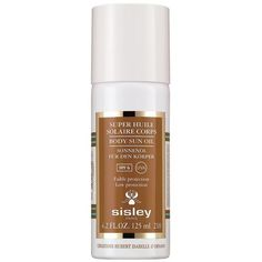 Sisley Body Sun Oil SPF 6 (Low Protection) (1 080 ZAR) ❤ liked on Polyvore featuring beauty products, bath & body products, sun care and sisley