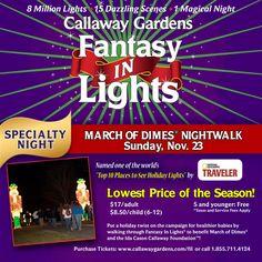 21 Best Fantasy In Lights Images Callaway Gardens Atlanta
