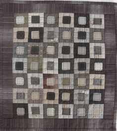 Sakizome Momen Miniature Quilt by BeBe Bold - Reminders me of a Denise Carbonell Quilt-  metalthread.com
