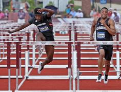 University of South Carolina Track & Field earned three medals at the SEC Championships, including Gold and a meet record in the high jump for senior Jeannelle Scheper, 110 hurdles Silver for Dondre Echols, and Bronze for the men's 4x400 relay.