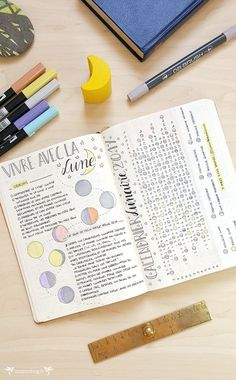 Moon Calendar Bullet Journal