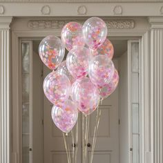 Pack Of 14 Party Girl Confetti Balloons