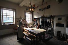 18th century kitchen