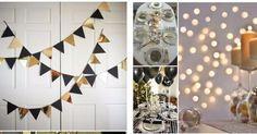 20 ideas para decorar tu fiesta de Año Nuevo