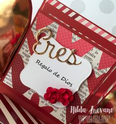 Hilda Designs: Blog Hop San Valentín, sellos Latina Crafter