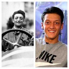 ¿Crees en la reencarnación? Enzo Ferrari muere en 1988. En el mismo año nace Mesut Ozil