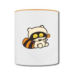 The Sleeping Cat Two-tone Mug Outlet-Animals & Nature  Accessories with 98% happy customers! Create custom shirts and personalized goods at HICustom,Use our online designer to add your design, logos, or text. easily!