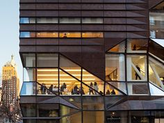 SOM : university center at the new school wins environmental award from AIA COTE.