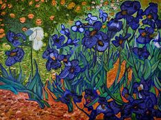 all of vincent van gogh paintings | My Irises Inspired By The Master Vincent Van Gogh Painting