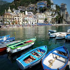 Cetara, Italy. Cetara is a town and commune in the Province of Salerno in the Campania region of south-western Italy.  Cetara is located in the territory of the Amalfi Coast.