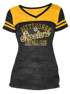 a7ddd132 Picture of Pittsburgh Steelers Women's Touch Coop II Burnout T-Shirt  Steelers Football, Best