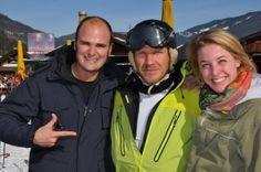 Fürst Albert von Thurn und Taxis, Xenia Mayr Melnhof und Hermann Maier