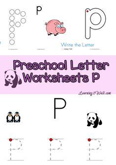 Free Preschool Letter R Worksheets- Learning 2 Walk ...