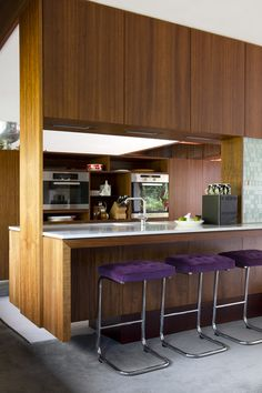 Adore Renee's WA mid-century modern home. Glorious. via Design Files.