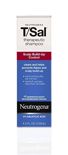 Neutrogena Shampoo TSal Scalp BuildUp Control 45 Ounce 133ml 3 Pack ** Check out this great product. (This is an affiliate link) #DailyShampoo