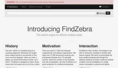 LIS Trends: FindZebra - Search Engine for Difficult Medical Ca...