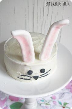 Tarta Conejito para Pascua