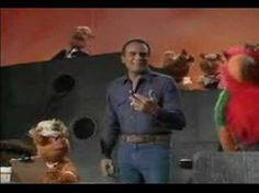 BANANA BOAT HARRY BELAFONTE WITH THE MUPPETS. Fozzie Bear pretty much ruins it with the rest of the muppets for Belafonte, but still it is my favorite song, and it was hilarious.