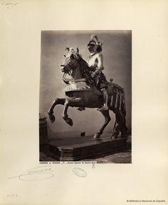Armure équestre de Charles Quint. Laurent, J. 1816-1886 — Fotografía — 1868?