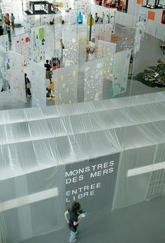 MonstresDesMers01 Exposition Interactive, Interactive Exhibition, Interactive Walls, Museum Exhibition Design, Exhibition Display, Exhibition Space, Display Design, Booth Design, Contemporary Abstract Art
