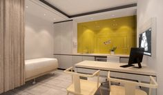Simple and small Medical clinic interior design ideas
