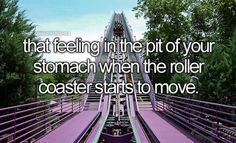I usually hate it but I haven't yet been on a coaster I didn't like by the end:-)