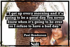 Quote from Paul Henderson