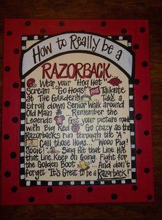 How To Really Be A Razorback!!