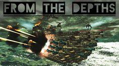 Seu nome é From the Depths, e é o primeiro jogo de guerra multiplayer baseado na física, onde você projeta e construir o seu próprio bloco de veículos. Além disso, tem monstros marinhos gigantes.