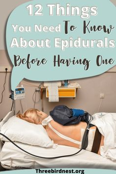 Having an epidural has it's pros and cons and when you're having a baby it's a big decision. It will help the experience be more calm and enjoyable but there can also be some strange consequences. Click the pin to read ' 12 things you need to know about having an epidural | This little nest ' epidural pros and cons, epidural vs natural, epidural birth, epidural side effects, epidural birth positions Pregnancy Checklist, Pregnancy Tips, Prenatal Workout, Pregnancy Workout, Epidural Side Effects, Diastasis Recti Exercises, Pregnancy Information, Preparing For Baby, Chronic Illness