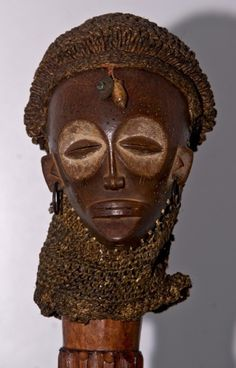 Superb Chokwe African mwana pwo mask, circa Ceremonial mwana pwo (meaning: perfect young woman ready for marria. African Masks, African Art, Woman Mask, Belgian Congo, Beautiful Mask, Masks Art, Aboriginal Art, West Africa, Statues