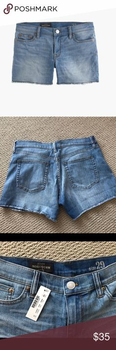 "NWOT J.Crew denim short in Bradbury wash New with out tags.  4"" inseam. 🚫No trades. J. Crew Shorts Jean Shorts"