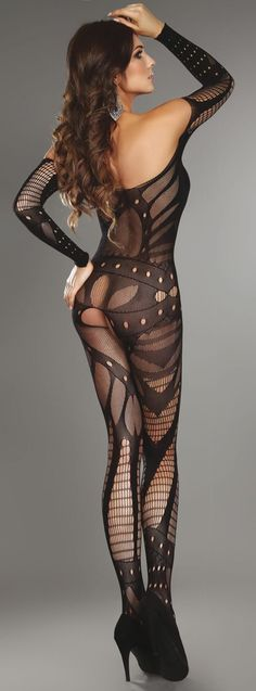 I like this body stocking-it has a tough girl vibe about it.