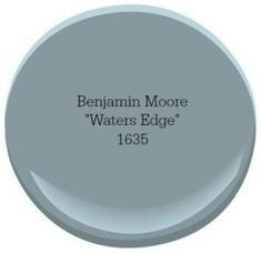Our Favorite Coastal Blue Paint Colors for Your Home Benjamin Moore Waters Edge Blue Paint Colors, Paint Color Schemes, Interior Paint Colors, Paint Colors For Home, Wall Colors, House Colors, Interior Painting, Neutral Colors, Color Blue