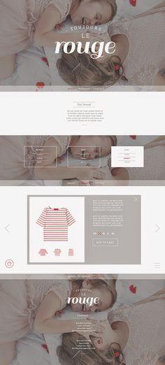Good design makes me happy: Project Love: Toujours le Rouge