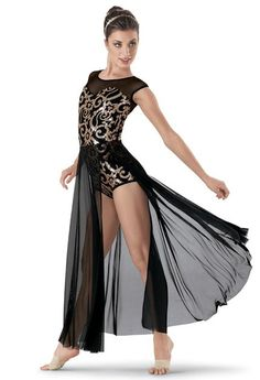 Weissman™ | Sequin Brocade Long Skirt Dress.