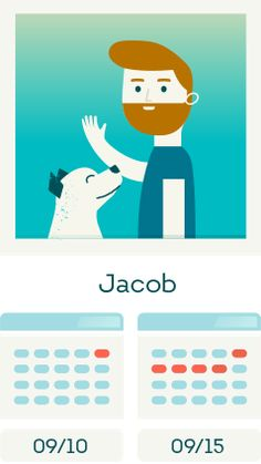 DogVacay-alustalla voi etsiä koiralleen hoitajaa eri pituisiksi ajoiksi.