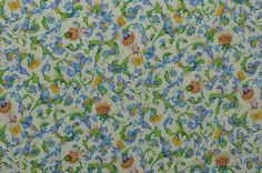 Cotton Quilting Fabric Cotton Floral Fabric by TheFabricScore