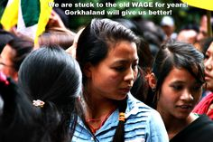 The wage given to our #Darjeeling #Tea garden workers are the lowest when compared. The only solution for a better wage to all our poor men and women workers is the achievement of #Gorkhaland. At the moment, all the money generated by the Darjeeling Tea industry is drained down to Kolkata where all the owners live. Nothing is given back to the workers except the wages. This monopoly has to stop and the West Bengal govt. should stop acting like a parasite.