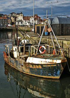 "Greg Heath, ""William John"" at Pittenweem harbour | Flickr - Photo Sharing!"