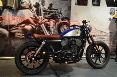 I have produced, it is street 750. STREET750 Custom Modify Harley-davidson shinjuku murayama-motors
