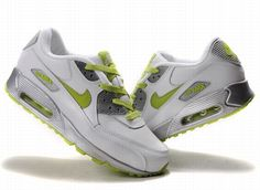 newest 236d6 f5646 air max 90 blanc vert fluorescent - €55.00   Chaussures Nike Air Max Pas  Cher Solde   Nike Free Run   Nike Air Jordan - Livraison gratuits