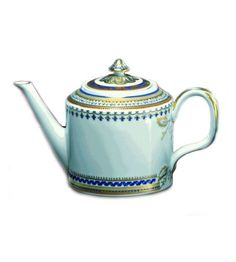 Mottahdeh- Chinoise Blue Teapot. i have such a weakness for these.