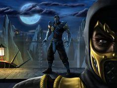 scorpion and sub zero   Scorpion X Sub Zero - Quem é melhor ? - Mortal Kombat   GeekNisses