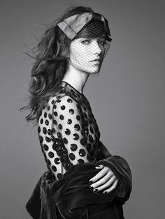 Grace Hartzel By Patrick Demarchelier For Vogue Spain December2014