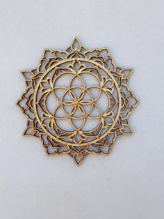 Mandala Art, Wood Wall Art, Mandala Decor, Bohemian Wall Decor, Spiritual Decor, Circle of Life, Mandala Wall Hanging, New Home Gift