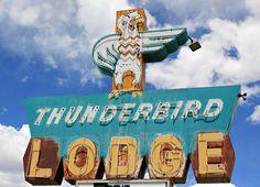 Thunderbird Lodge by Vintage Roadtrip, via Flickr