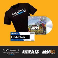 Vinci t-shirt GoPro e Skipass 2014 - http://www.omaggiomania.com/contest/vinci-t-shirt-gopro-skipass-2014/