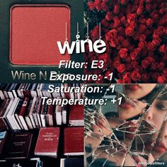 """2,742 Likes, 38 Comments - was vscocameffects (@feedgoalsfilters) on Instagram: """". ♡ //red wine color for red photos ♡qotp: hows ur day -- if you have questions i only answer thru…"""""""