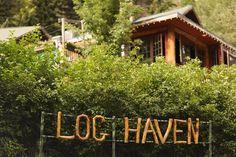 Log Haven Wedding Venue in Utah